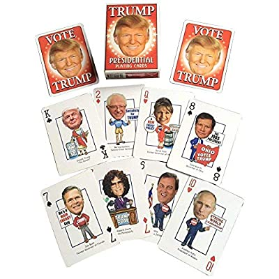President Donald  J Trump Presidential Playing Cards by Parody Productions -  Revised for 2020 Election: Toys & Games