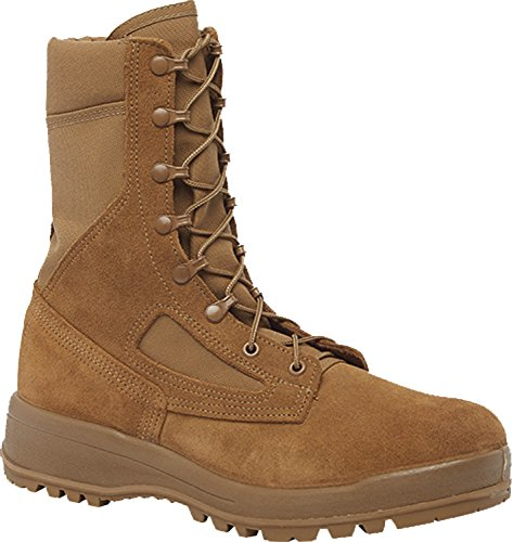 Weather Military Boots - Belleville C300 ST Men's Hot Weather Steel Toe Coyote Boot , Coyote - 9R