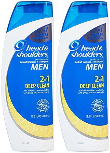 Head & Shoulders Deep Clean 2-in-1 Dandruff Shampoo + Conditioner - 13.5 oz - 2 pk