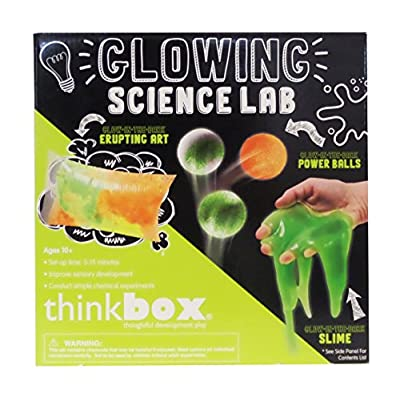 Thinkbox Glowing Science Lab Kit: Toys & Games