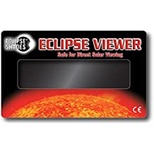 Rainbow Symphony Solar Eclipse Viewer for Direct Solar Viewing, Package of 10