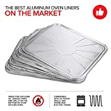 Disposable Foil Oven Liners (10 Pack) Oven Liners