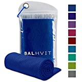 Balhvit Cooling Towel, Cool Towel for Instant Cooling Relief, Chilling Neck Wrap, Ice