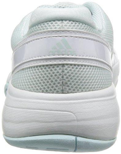 Aqua femme Blanc de smc smc Weiß Fresh Fitness Fresh Bercuda 3 White Running Aqua adidas Ftw Chaussures W 0Yvngq