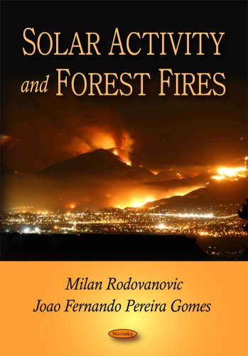 Solar Activity and Forest - Milan Fire Art Red