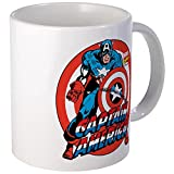 CafePress - Captain America Mug - Unique Coffee Mug, Coffee Cup