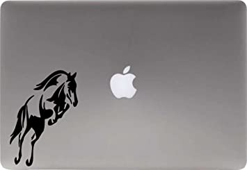 Rearing Horse Silhouette Decal Sticker for Car Window Laptop Trackpad Wall Decor