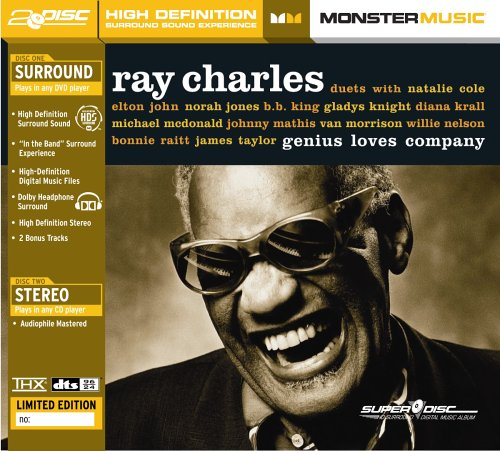 Ray Charles - Genius Loves Company (SuperDisc) by Monster Music