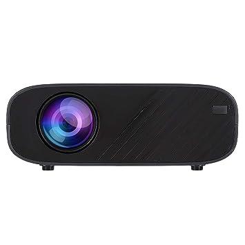 Hakeeta Proyector 3D, HD 720P 5000 lúmenes, Vida útil de la ...