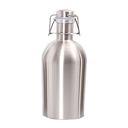 Hihamer Botella de Agua Termo, Botella isotérmica 1L/2L de ...
