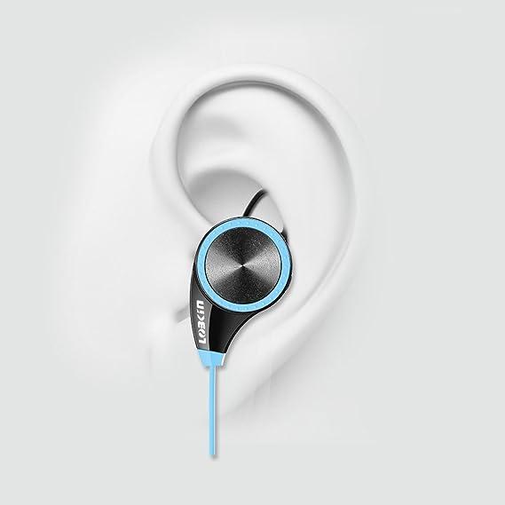 LOBKIN Bluetooth 4.0 Wireless Stereo Deportes / marcha y Gimnasio / ejercicio Auriculares Auriculares de manos libres Bluetooth Headset con micrófono para ...