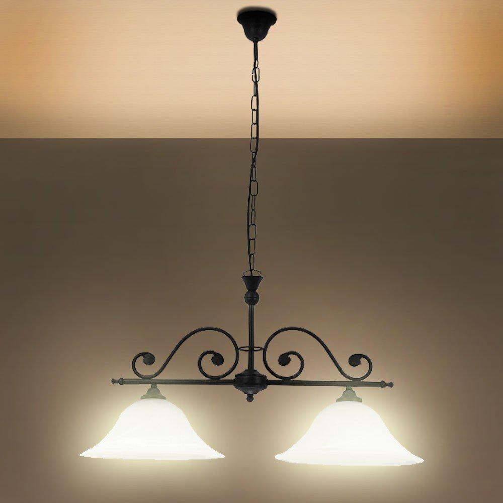 Decken Hänge Lampe Leuchte Landhausstil Pendel Licht Antik Rabalux ...