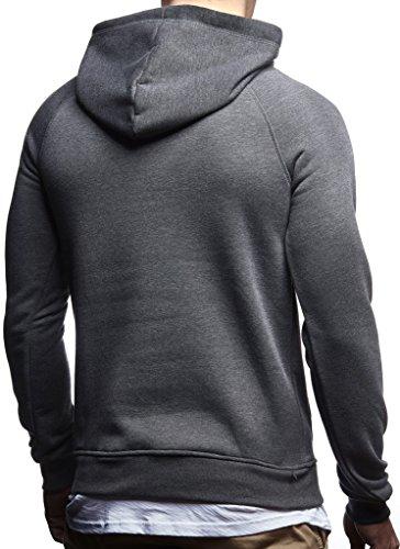 2in1 Leif Hoodie Sweatshirt Anthrazit À Ln8125 Pour Des Hommes Nelson Pull Pullover Capuche Cr8C7w