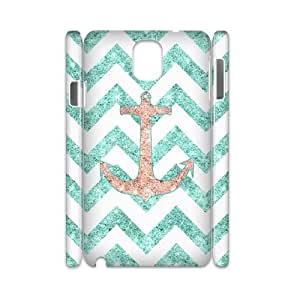 case Of Anchor Chevron 3D Bumper Plastic customized case For samsung galaxy note 3 N9000 by icecream design
