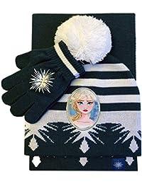 Disney Frozen 2 Elsa Hat Gloves and Scarf Cold Weather Set