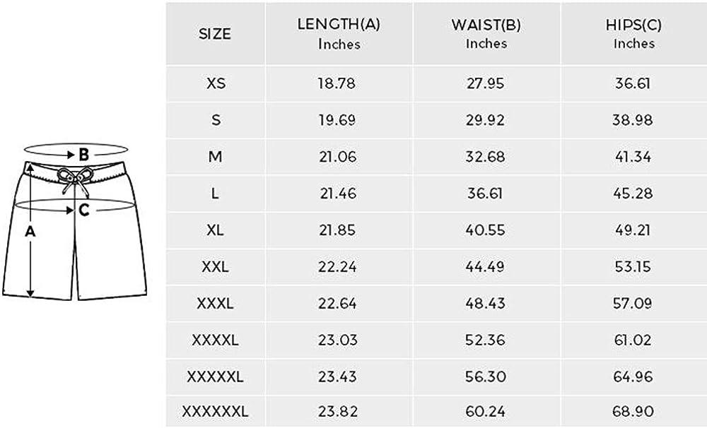 INTERESTPRINT Mens Board Shorts Quick Dry Cute Babies Animals Swimwear Water Shorts XS-6XL