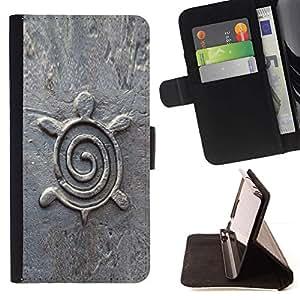 Momo Phone Case / Flip Funda de Cuero Case Cover - Arquitectura Diseño Estatuilla de piedra - LG G4 Stylus H540