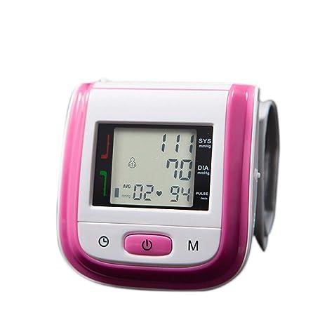 alftek de Salud automático muñeca monitor de presión arterial digital LCD de sangre Impresión – Tensiómetro