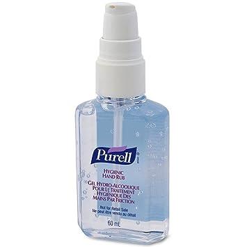 Purell - 1x gel sanitario higiénico para manos 60 ml: Amazon.es: Salud y cuidado personal