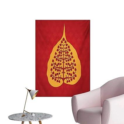 Amazon.com: Anzhutwelve Leaf Art Stickers Artistic Design of ...