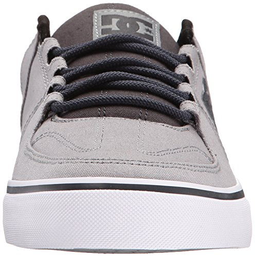 Men's Fashion DC White Sneaker Up Lace Lynx Grey FSvxqvTd