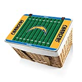 NFL Los Angeles Chargers Canasta Grande Willow Picnic Basket