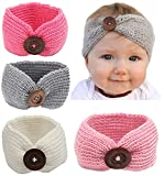Best QandSweet Clothing For Boys - Qandsweet Baby Turban Head Wrap Headbands Girl Knitting Review