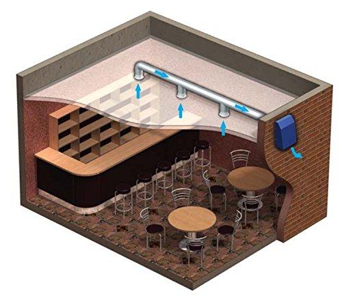 Wand Abzug VENTS VCN 150 Au/ßenl/üfter Industrieller Au/ßenwand Radiall/üfter f/ür 150 mm Rohr hochwertige Leistung Au/ßenwandventilator L/üfter Au/ßenventilator 100/% Origin Ventilator 600 m/³//h