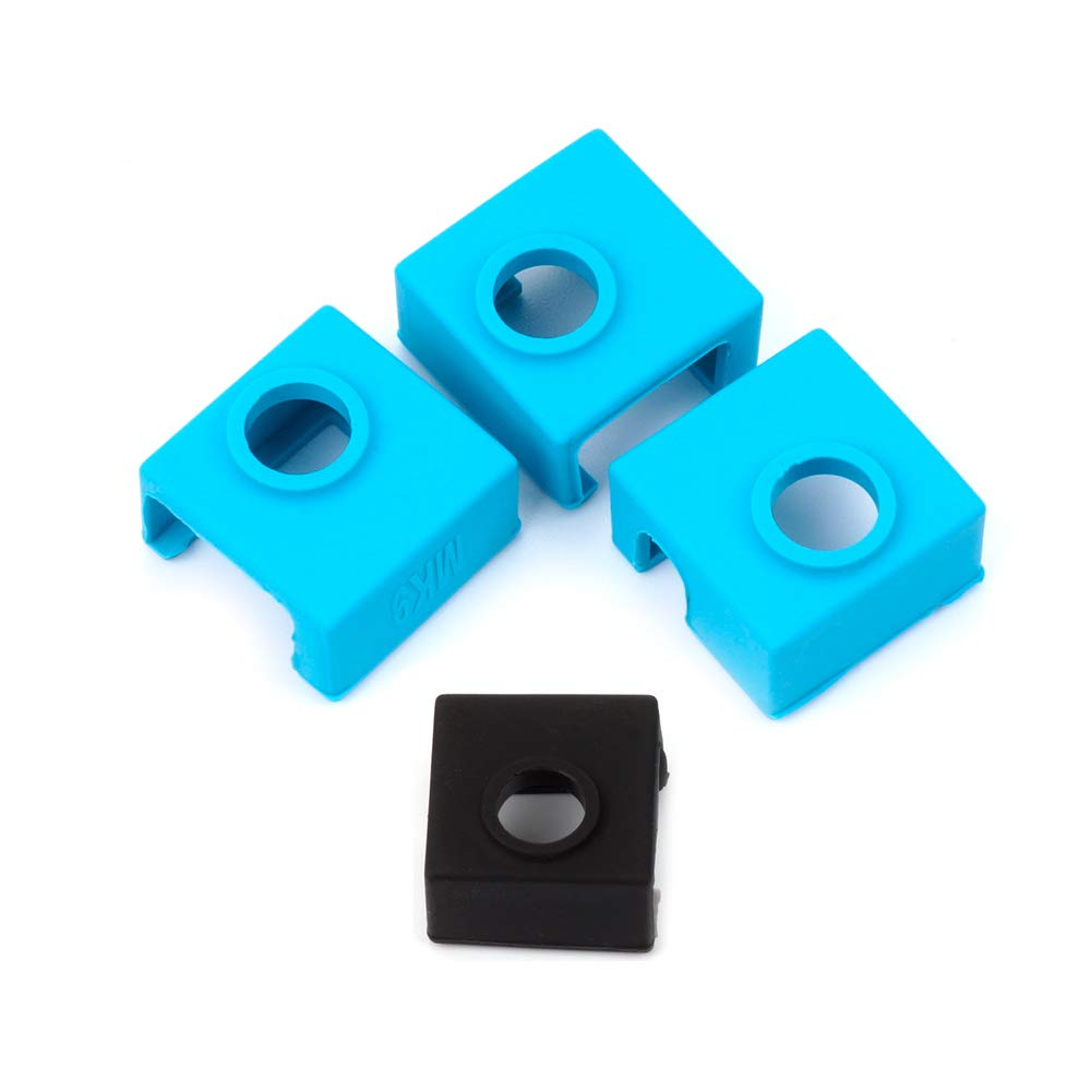 3x 3D Printer Heater Block Silicone Cover for Creality CR-10,S4,S5,Ender 3