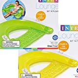 Intex Sit N Float Inflatable Lounge, 60' X 39', 1 Pack (Colors May Vary) (2)