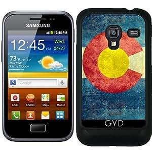 Funda para Samsung Galaxy Ace Plus S7500 - Estado Colorado Bandera Retro by BruceStanfieldArtist