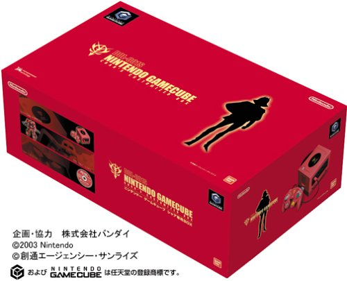 ニンテンドーゲームキューブ本体 シャア専用BOXの商品画像
