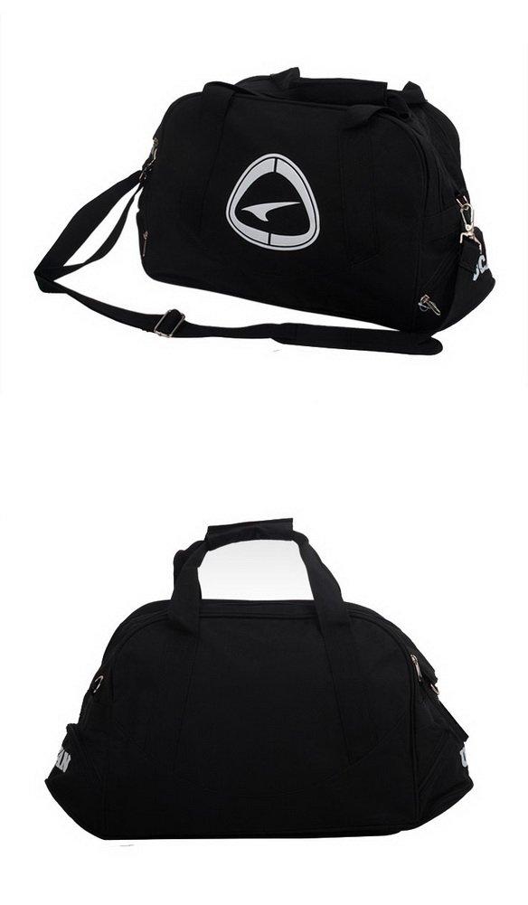 43dbd421de11 Amazon.com   PANDA SUPERSTORE Black Duffle Bag Football Equipment ...