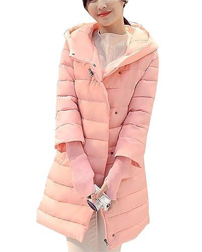 Mujer De Manga Larga Abrigo Chaqueta Larga Abrigo Casual Espesar Cálido Abrigo