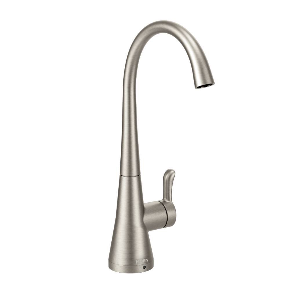 Moen S5520SRS Sip Transitional One-Handle High-Arc Beverage Faucet ...