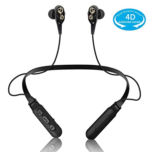Bluetooth Headphones Neckband Wireless Headset