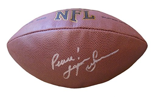 Pittsburgh Steelers Super Bowl X MVP Lynn Swann Autographed Hand Signed NFL Wilson Football with Proof Photo, USC Trojans, COA (Lynn Swann Pittsburgh Steelers)