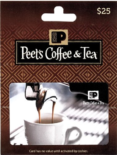 Peet's Coffee & Tea $25 Gift Card