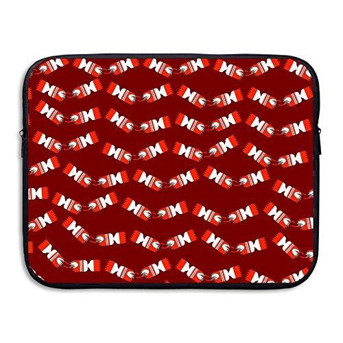 Laptop Sleeve Bag Christmas Crackers Waterproof Computer Bag Zipper Notebook Case 13 Inch -