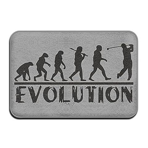 DIYABCD Golf Evolution Funny Golfer Humor Doormats Anti-slip House Garden Gate Carpet Door Mat Floor (Humor Doormat)
