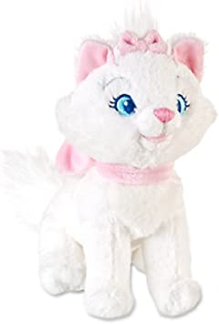 """Disney Authentic Aristocats Marie White Cat Big Plush Soft Toy Doll 12/"""" New"""