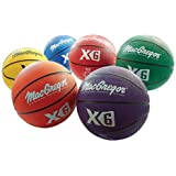 MacGregor Multicolor Basketballs (Set of 6) - Official Size (29.5