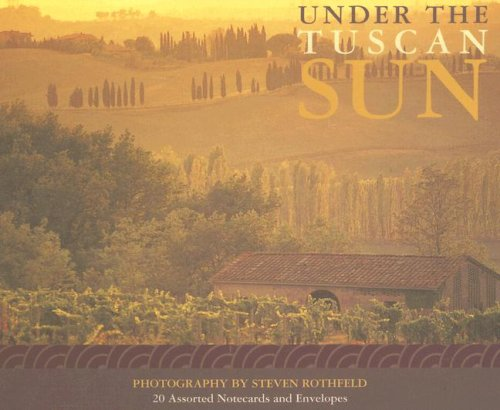 under the tuscan sun notecards