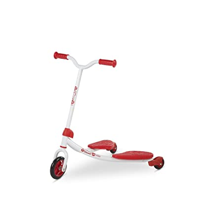 Amazon.com: Y fliker J2 Junior – Patinete, color rojo ...