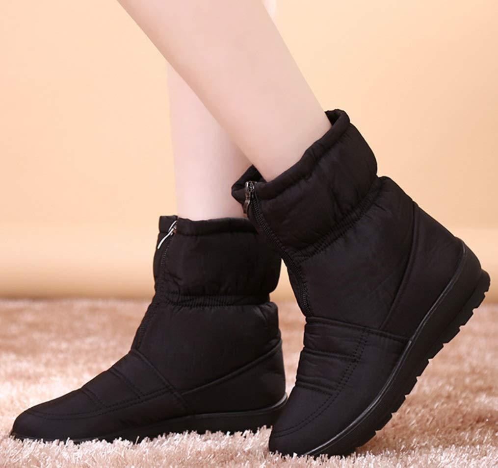 LIANGXIE Frauen Schneeschuhe Stiefel Winter Wasserdichte Damen Stiefel Plus Plus Plus SAMT Dicke Warme Outdoor Wanderschuhe 7eea25