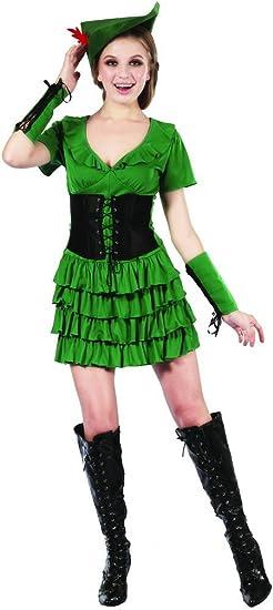 Disfraz mujer del bosque - M: Amazon.es: Juguetes y juegos
