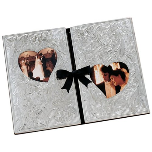 Lenox Wedding Promises Silver Plate Double Album