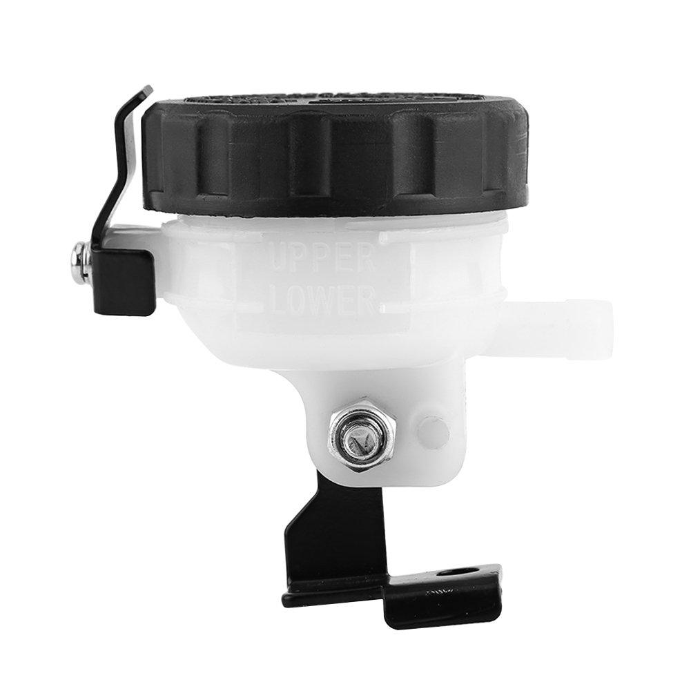 Qiilu QL01100 Universale Serbatoio del freno Bottiglia del fluido anteriore Motocicletta della frizione della pompa dellolio della frizione Master