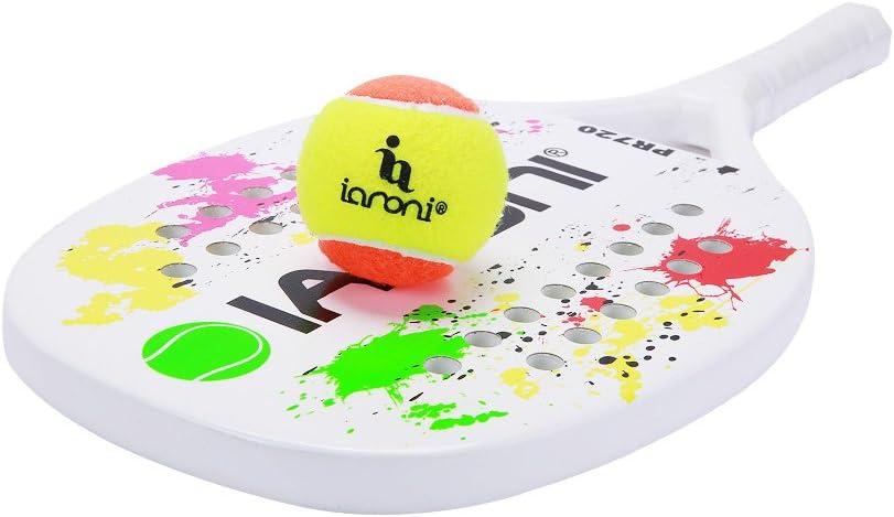 Amazon.com: ianoni Beach Tennis Paddle Ball: Sports & Outdoors