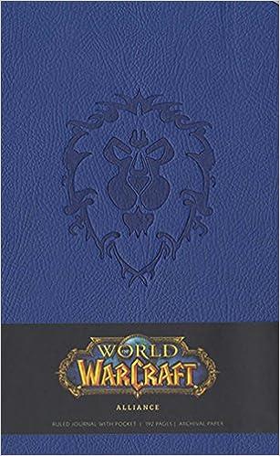 20. World of Warcraft Alliance Hardcover Ruled Journal